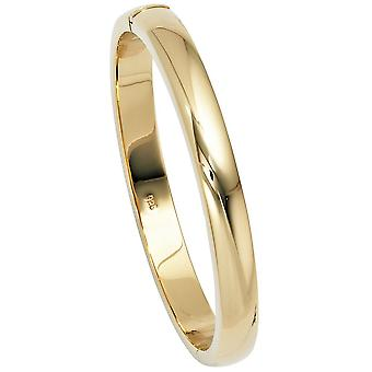 gold-plated bangles gold plated oval 925 Sterling Silver box Castle