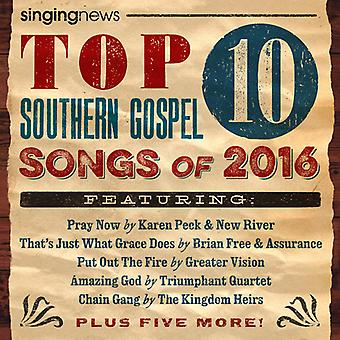 Various Artist - Singing News Top 10 Southern Gospel Songs [CD] USA import