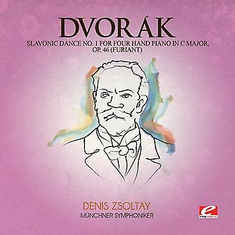Dvorak - Slavonic Dance 1 Four Hand Piano C Maj 46 [CD] USA import
