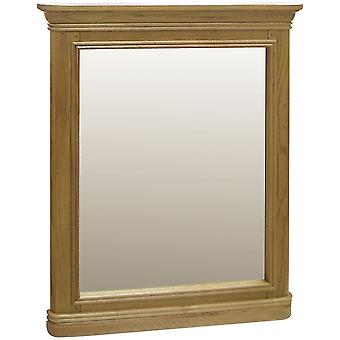 Classic Loire Oak Wall Mirror