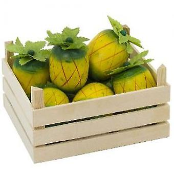 Goki Pineapples in fruit crate (Toys , Home And Professions , Professions)
