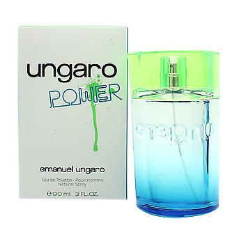 Emanuel Ungaro Power Eau de Toilette 90ml EDT Spray