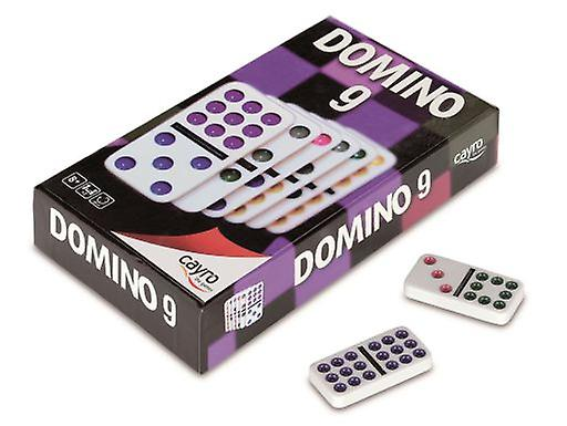 Cayro Double Coloured Dominos 9 (Spielzeuge , Brettspiele , Traditionell)