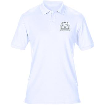 The Royal Inniskilling Fusiliers Embroidered Logo 1926 - Official British Army Mens Polo Shirt