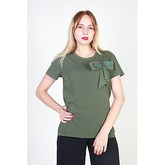 Pinko T-shirts Women Green