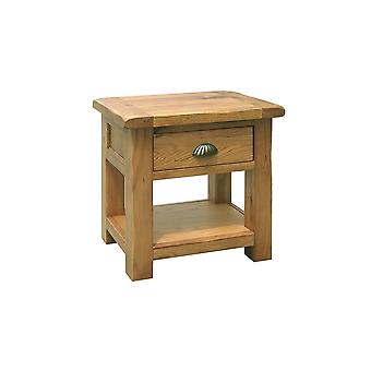 Direct Home Living One Drawer Oak Console Table