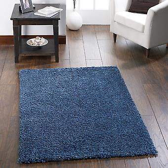 Chicago Shaggy Rugs In Dark Teal