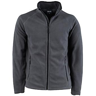 Tee Jays Mens Full Zip Active Lightweight Fleece Jacket