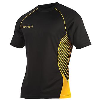 KooGa Boys Junior Try Panel Match Rugby Shirt