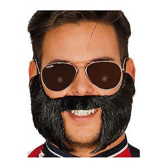 Barbes et moustaches Mustache avec pattes