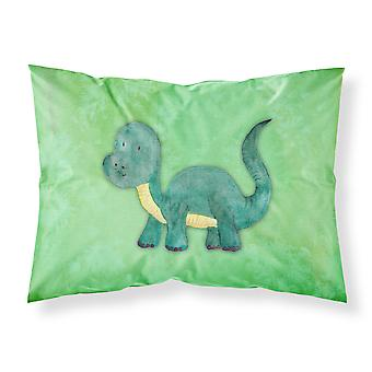 Brontosaurus Watercolor Fabric Standard Pillowcase