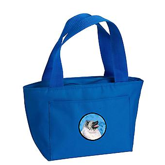 Carolines Treasures  SS4764-BU-8808 Blue Keeshond  Lunch Bag or Doggie Bag SS476