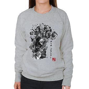 Jojos Bizarre eventyr Za Warudo Svend kvinders Sweatshirt