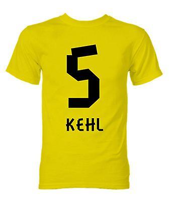Sebastian Kehl von Borussia Dortmund Held T-Shirt (gelb)