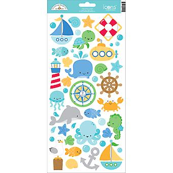 Anchors Aweigh Cardstock Stickers 6