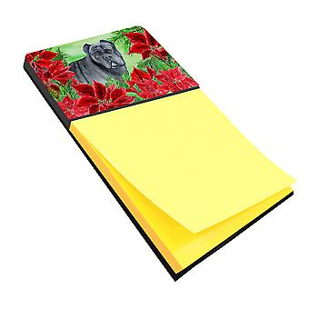 Carolines Treasures  CK1342SN Cane Corso Poinsettas Sticky Note Holder