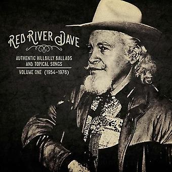 Red River Dave - autentisk Hillbilly ballader & aktuel sange: Vol. 1 [Vinyl] USA import