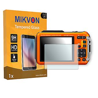 Panasonic Lumix DMC-FT5 Screen Protector - Mikvon flexible Tempered Glass 9H (Retail Package with accessories)