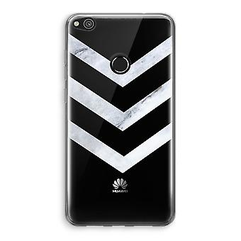 Huawei Ascend P8 Lite (2017) Transparant Case - Marble arrows