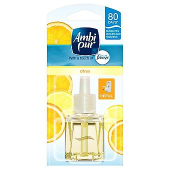 Ambi Pur Febreze Plug In Refill Air Freshener 20Ml - Citrus