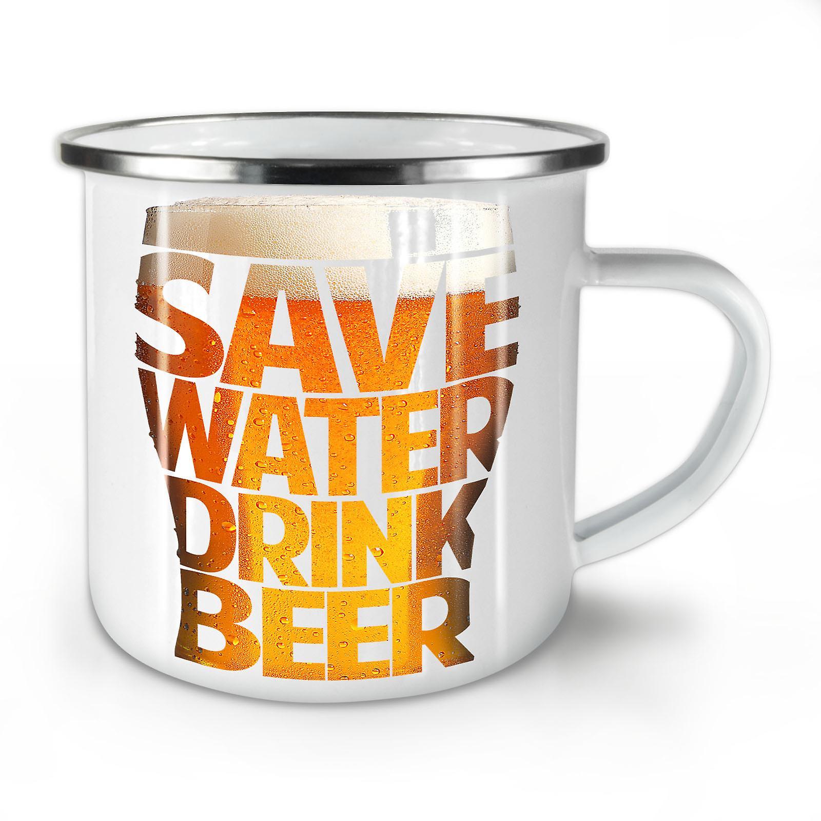 Café Boisson Économisez Mug10 Émail L'eau Nouvelle Whitetea De OzWellcoda 3R54LjAq
