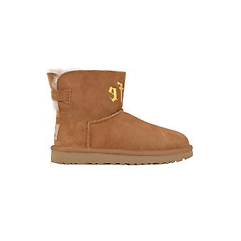 Ugg women's 109271 BEIGE brown suede ankle boots