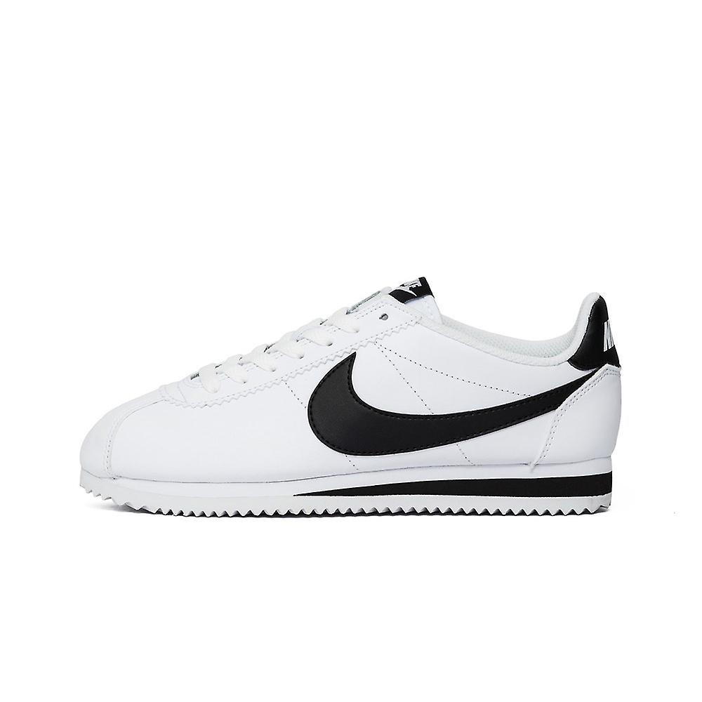 Nike Wmns Classic Cortez Leather White 807471101 universal all year men shoes