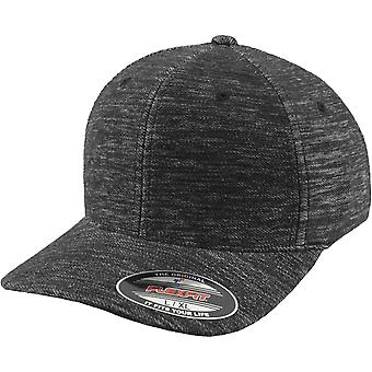Flexfit TWILL KNIT stretchable Curved Cap - grey