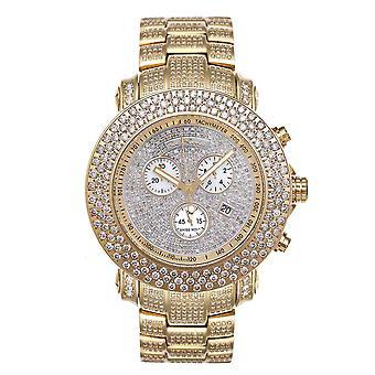 Joe Rodeo Diamant Herren Uhr - JUNIOR gold 20.5 ctw