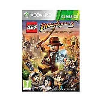LEGO Indiana Jones 2 Äventyret fortsätter - klassiker (Xbox 360)