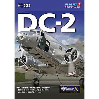 DC-2 for FS 2004 and FSX (PC CD)