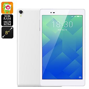 Lenovo P8 Android Tablet – Octa-Core CPU, 3GB RAM, FHD 8-Inch Display, 4250mAh, 360-Degree Sound, 8MP Cam, Android 6.0 (White)