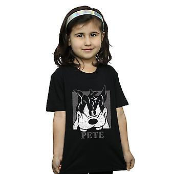 Pete de las chicas de Disney recorta la cabeza t-shirt