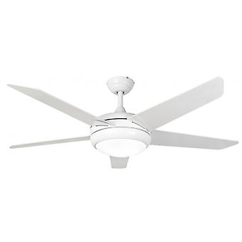 Ceiling Fan Neptune in White with LED Light