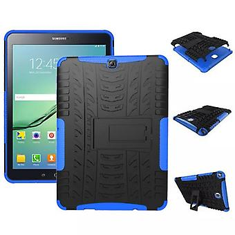 Hybrid outdoor protective cover case blue for Samsung Galaxy tab S2 9.7 T810 T815N bag