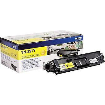 Toner cartridge Original Brother TN-321Y Yellow Page yield 1500 pages