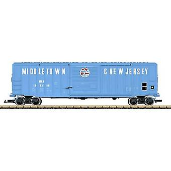 LGB L42933 G covered goods wagons of the MNJ