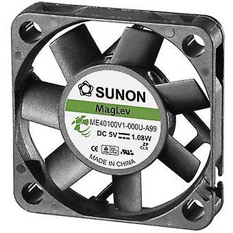 Sunon ME40101V1-000U-A99 Axial fan 12 Vdc 13.59 m³/h (L x b x H) 40 x 40 x 10 mm