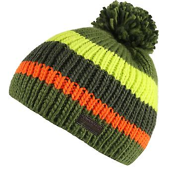 Regatta Boys Davin Knitted Pom Pom Warm Walking Winter Beanie Hat