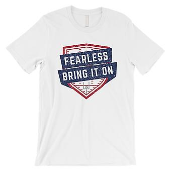 FEARLESS New York T-Shirt Mens Funny Gameday Vibe Tee Gift For Him