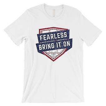 ONVERSCHROKKEN New York T-Shirt Mens grappig Gameday Vibe Tee Gift voor hem