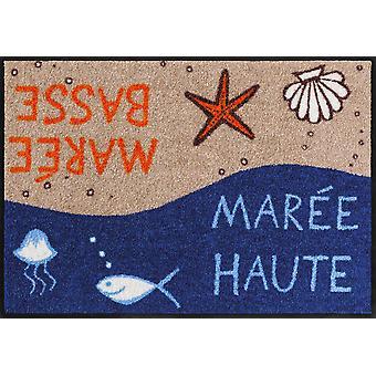 Salong lion dörrmatta Mareé 50 x 75 cm tvättbar maritima smuts matta