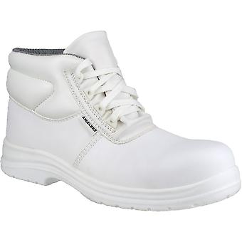 Amblers Safety Mens FS513 White Waterproof Safety Boots White
