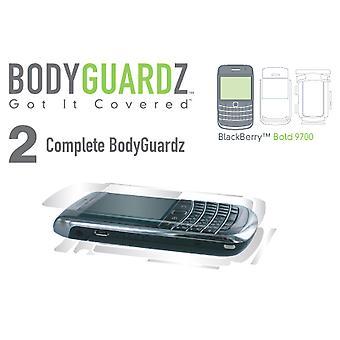 BodyGuardz Screen Protector for Blackberry 9700 (Body & Screen)