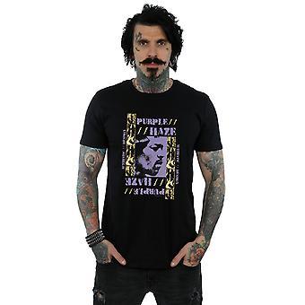 Jimi Hendrix Men's Purple Haze T-Shirt