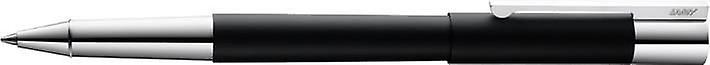 Lamy Scala Lacquer Rollerball Pen - noir argent
