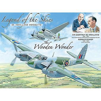 Legenda o niebem De Havilland Mosquito dużych stali Zarejestruj 400 X 300 Mm