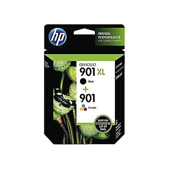 HP 901XL/901 Original Ink Cartridges, Black and Tri-Color, Pack of 2  SD519AE