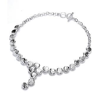 Cavendish französische Silber Halskette Button