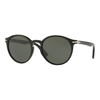 Persol 3171S Small black polarized Green